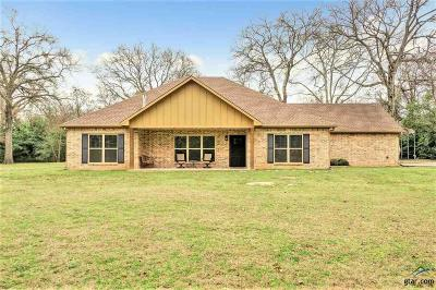 Tyler Single Family Home For Sale: 5378 County Road 334 (Pine Springs Road)