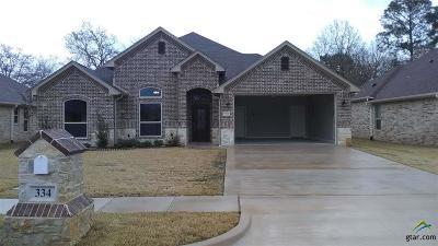 Tyler Single Family Home For Sale: 334 Omaha Avenue