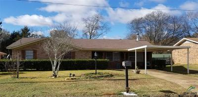 Upshur County Single Family Home For Sale: 801 Gary