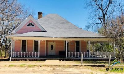 Upshur County Single Family Home For Sale: 103 S Wildcat St