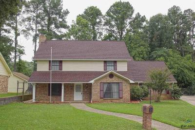 Tyler Single Family Home For Sale: 2817 Stonewall Court