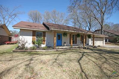 Tyler Single Family Home For Sale: 408 Sutherland