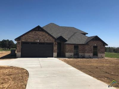 Lindale Single Family Home For Sale: 14844 County Road 424 (Lot 6a)