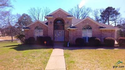 Tyler Single Family Home For Sale: 1239 Santa Fe Trail