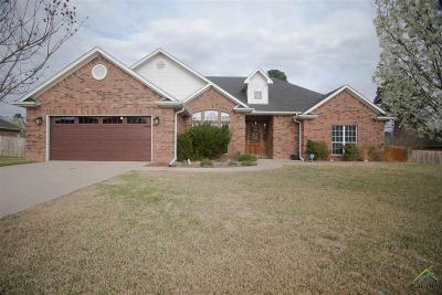 Tyler Single Family Home For Sale: 122 Aj Blvd
