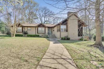 Tyler Single Family Home For Sale: 2526 Pounds Ave