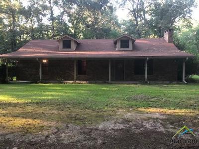 Daingerfield TX Single Family Home For Sale: $225,000