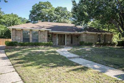 Tyler Single Family Home For Sale: 3304 Shadow Glen
