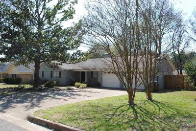 Tyler Single Family Home For Sale: 715 Oxford Dr.