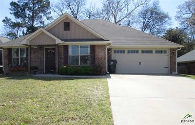 Tyler Single Family Home For Sale: 2813 Valley View