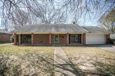 Tyler Single Family Home For Sale: 3109 McDonald Rd