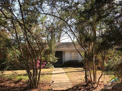 Tyler TX Single Family Home Contingent - Active: $157,000