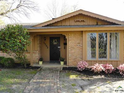 Tyler TX Single Family Home For Sale: $189,900