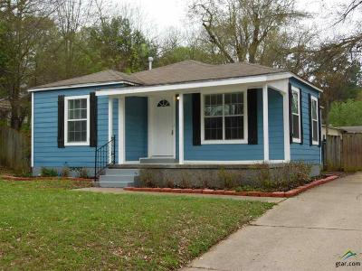 Tyler TX Single Family Home For Sale: $97,400
