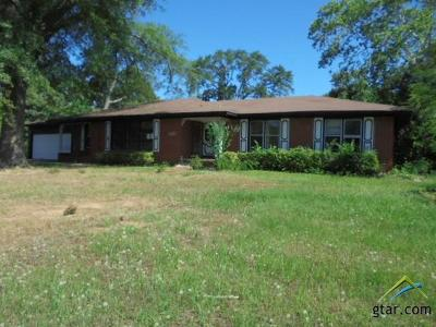 Tyler TX Single Family Home For Sale: $95,000