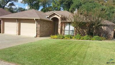 Tyler TX Single Family Home For Sale: $159,900