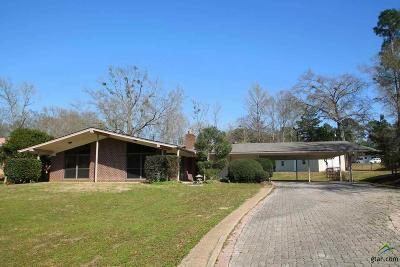 Quitman Single Family Home For Sale: 109 Meadowbrook