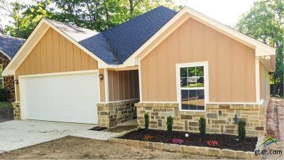 Tyler TX Single Family Home For Sale: $157,500
