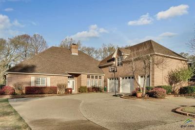 Tyler Single Family Home For Sale: 6607 Gleneagles Dr