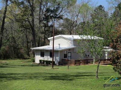 Henderson TX Single Family Home For Sale: $124,900