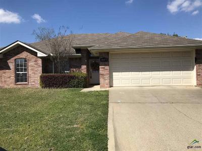 Kilgore TX Single Family Home For Sale: $165,000