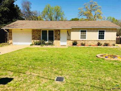 Tyler TX Single Family Home For Sale: $99,500