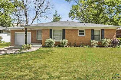 Tyler Single Family Home For Sale: 1004 Guinn