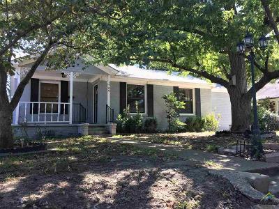 Tyler Single Family Home For Sale: 1700 Magnolia