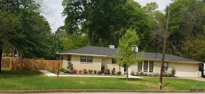 Tyler Single Family Home For Sale: 3415 Birdwell