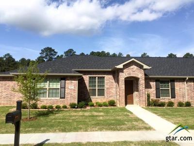 Tyler Condo/Townhouse For Sale: 5117 Shiloh Village