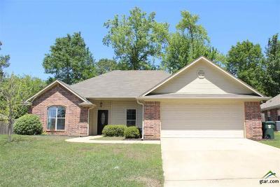 Tyler Single Family Home For Sale: 1617 Crockett Drive