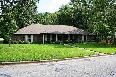 Tyler Single Family Home For Sale: 500 Sutherland