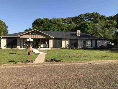Quitman Single Family Home For Sale: 423 Nathan Dr.