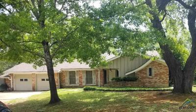 Tyler Single Family Home For Sale: 3306 Brookside