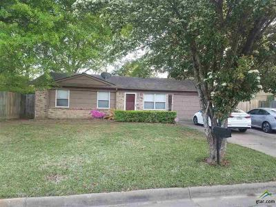 Tyler Single Family Home For Sale: 2319 Smuts Drive