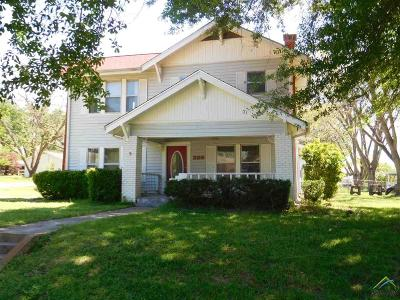 Frankston Single Family Home For Sale: 208 N Holcomb