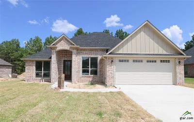 Tyler Single Family Home For Sale: 3523 Cabot Lane