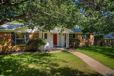 Tyler Single Family Home For Sale: 3014 Decharles