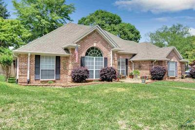 Tyler Single Family Home For Sale: 3412 Pebblebrook