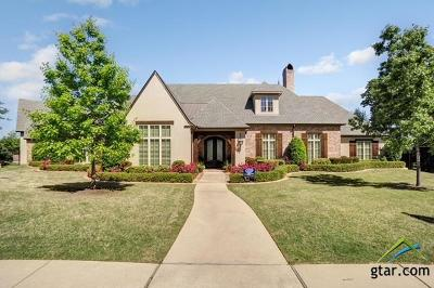 Tyler Single Family Home For Sale: 7102 Nottaway
