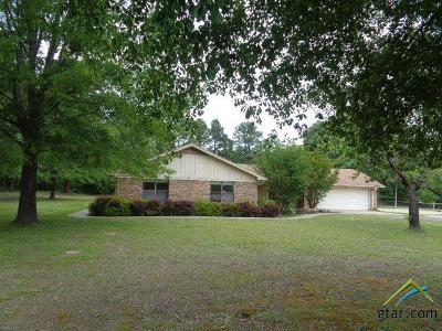 Quitman TX Single Family Home For Sale: $168,500
