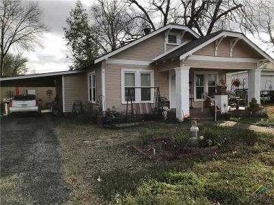 Mineola TX Single Family Home For Sale: $89,500