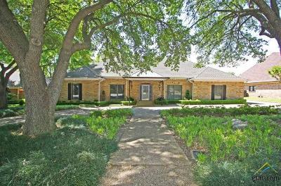 Tyler Single Family Home For Sale: 3507 Matt Lane