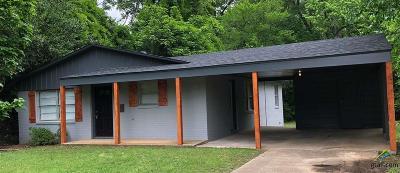 Tyler Single Family Home For Sale: 1136 E Lake