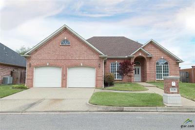 Tyler Single Family Home For Sale: 2220 Dover Ln.