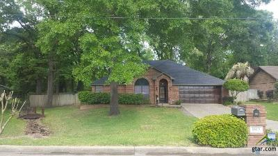 Tyler Single Family Home For Sale: 15119 Northwood