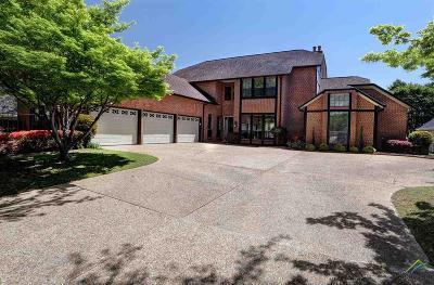 Tyler TX Single Family Home For Sale: $599,000