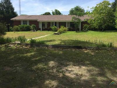 Troup TX Single Family Home For Sale: $148,000