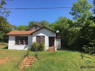 Hughes Springs TX Single Family Home For Sale: $20,000