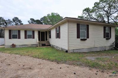Overton TX Single Family Home For Sale: $115,000
